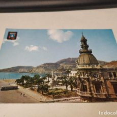 Postales: COMUNIDAD MURCIANA - POSTAL CARTAGENA - PUERTO Y MONUMENTO A LOS HÉROES DE CAVITE. Lote 191504796