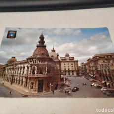 Postales: COMUNIDAD MURCIANA - POSTAL CARTAGENA - PLAZA DEL CAUDILLO. Lote 191504945