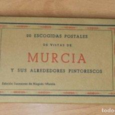 Postales: POSTALES DE VISTAS DE MURCIA. Lote 191605620