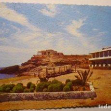 Postales: POSTAL AGUILAS -PLAYA Y HOTEL CALYPSO - ESCRITA CM. Lote 191642557