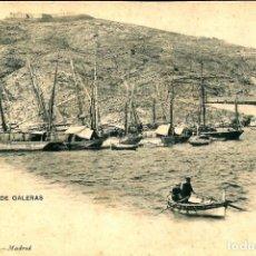 Postales: CARTAGENA. CASTILLO DE GALERAS. HAUSER Y MENET Nº 166.. Lote 191698571