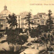 Postales: CARTAGENA. PLAZA DE SAN FRANCISCO. CASAÚ.. Lote 191731810