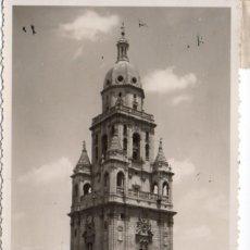 Postales: POSTAL DE MURCIA - TORRE CATEDRAL. Lote 191732947