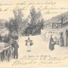 Postales: POSTAL BAÑOS DE ARCHENA - PISCINAS .. Lote 191815200