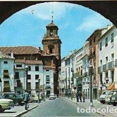 Postales: CARAVACA - 391 PLAZA MAYOR E IGLESIA DEL SALVADOR. Lote 192245770