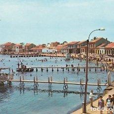 Cartes Postales: MURCIA LOS ALCAZARES MAR MENOR PLAYA ED. GARRABELLA Nº 6 AÑO 1964. Lote 192805030