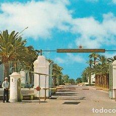 Cartes Postales: MURCIA LOS ALCAZARES BASE AEREA PUERTA PRINCIPAL ED. GARRABELLA Nº 26 AÑO 1973. Lote 219415595