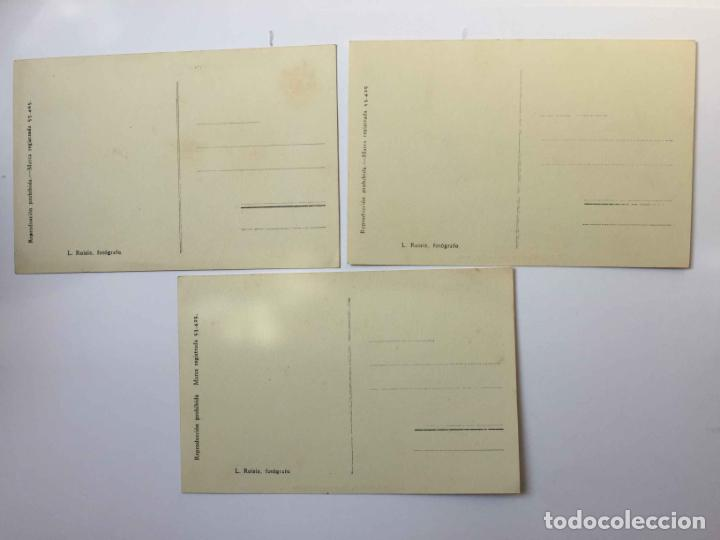 Postales: 3 tarjetas postales: CARTAGENA (Roisin, 1935's) ¡Sin circular! ¡Originales! - Foto 2 - 193230805