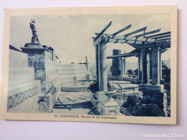 Postales: 3 tarjetas postales: CARTAGENA (Roisin, 1935's) ¡Sin circular! ¡Originales! - Foto 3 - 193230805
