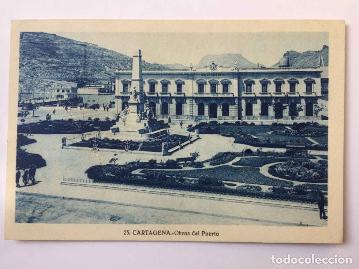 Postales: 3 tarjetas postales: CARTAGENA (Roisin, 1935's) ¡Sin circular! ¡Originales! - Foto 4 - 193230805
