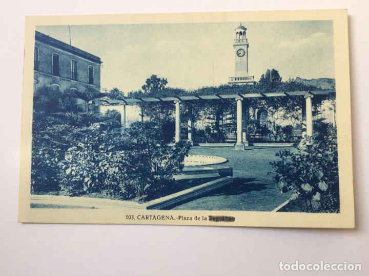 Postales: 3 tarjetas postales: CARTAGENA (Roisin, 1935's) ¡Sin circular! ¡Originales! - Foto 5 - 193230805