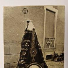 Postales: LORCA , MURCIA. SEMANA SANTA, PASO BLANCO, GRUPO DE SALOMON REY, PEDRO MANCHON, LORCA. Lote 193617642