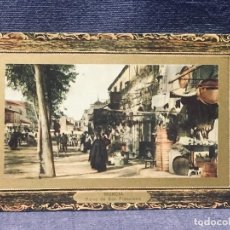 Postales: POSTAL COLOREADA MURCIA PLANO DE SAN FRANCISCO EDICION SUCESORES DE NOGUES MARCO DORADO. Lote 193650735