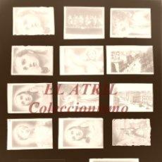 Postales: MURCIA - 14 CLICHES ORIGINALES - NEGATIVOS EN CRISTAL - EDICIONES ARRIBAS. Lote 193723455