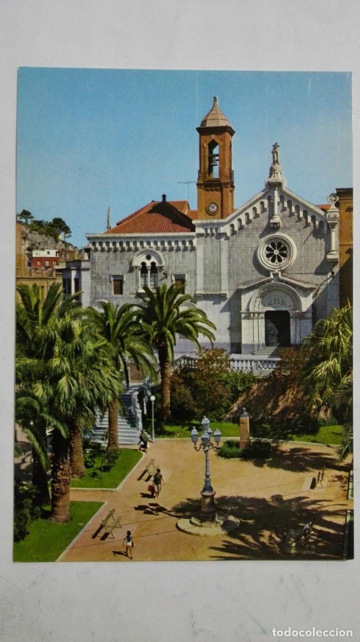 POSTAL CARTAGENA - IGLESIA DE SAN DIEGO (Postales - España - Murcia Moderna (desde 1.940))