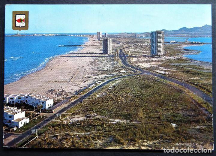 LA MANGA DEL MAR MENOR, ANTIGUA POSTAL CIRCULADA (Postales - España - Murcia Moderna (desde 1.940))