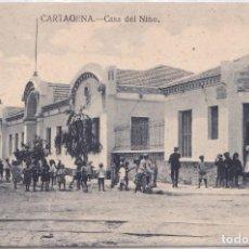 Postales: CARTAGENA (MURCIA) - CASA DEL NIÑO. Lote 194260200