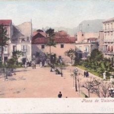 Postales: CARTAGENA (MURCIA) - PLAZA DE VALARINO TOGORES. Lote 194260578