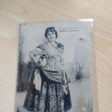 Postales: POSTAL MURCIA. HUERTANA. FOTOTIPIA HAUSER Y MENET. CIRCULADA.. Lote 194284216