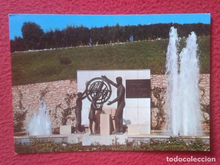 POSTAL POST CARD MURCIA CARTAGENA MONUMENTO AL MAESTRO THE MASTER MONUMENT SPAIN ESPAGNE VER FOTO... (Postales - España - Murcia Moderna (desde 1.940))