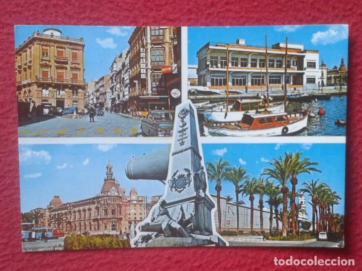 POSTAL POST CARD MURCIA CARTAGENA VISTAS SPAIN ESPAGNE SPANIEN Nº 8524 EXCLUSIVAS Fº ALCARAZ.....VER (Postales - España - Murcia Moderna (desde 1.940))