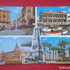 Postales: POSTAL POST CARD MURCIA CARTAGENA VISTAS SPAIN ESPAGNE SPANIEN Nº 8524 EXCLUSIVAS Fº ALCARAZ.....VER. Lote 194299337