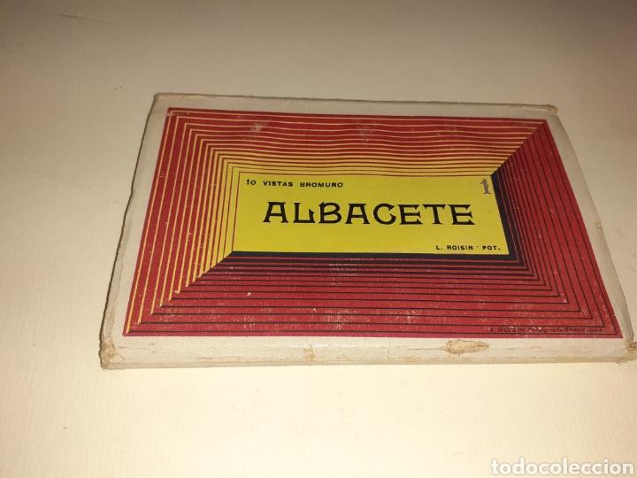 BLOQUE DE 10 POSTALES DE ALBACETE (Postales - España - Murcia Moderna (desde 1.940))