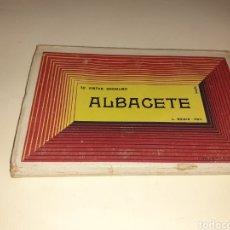 Postales: BLOQUE DE 10 POSTALES DE ALBACETE. Lote 194326248