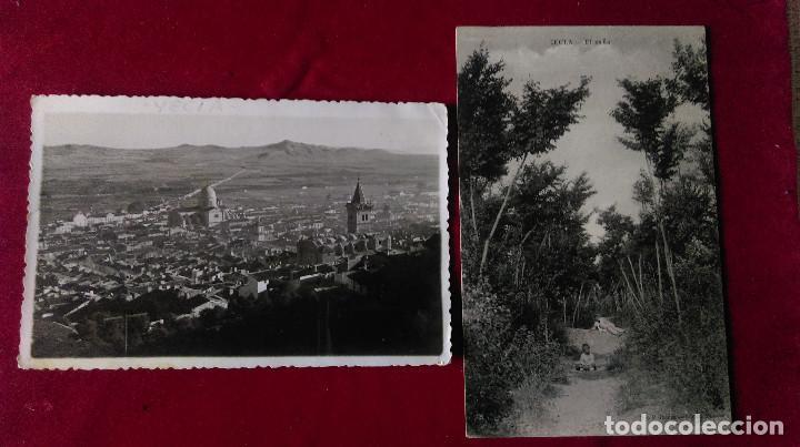 W.- 31.- LOTE DE - 2 - POSTALES DE -- YECLA -- EL EAÑO - Y VISTA GENERAL , VER FOTOS DE AMBAS (Postales - España - Murcia Antigua (hasta 1.939))