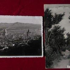 Postales: W.- 31.- LOTE DE - 2 - POSTALES DE -- YECLA -- EL EAÑO - Y VISTA GENERAL , VER FOTOS DE AMBAS. Lote 194671750