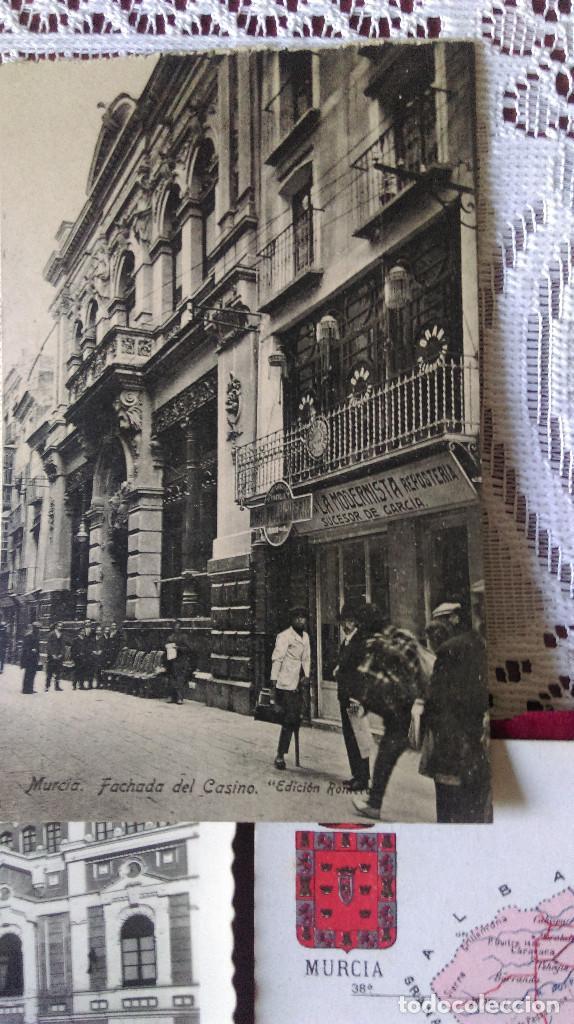 Postales: W.- 32.- LOTE DE - 7 - POSTALES DE -- MURCIA -- DIFERENTES LUGARES DE LA CIUDAD .- VER FOTOS - Foto 2 - 194673965