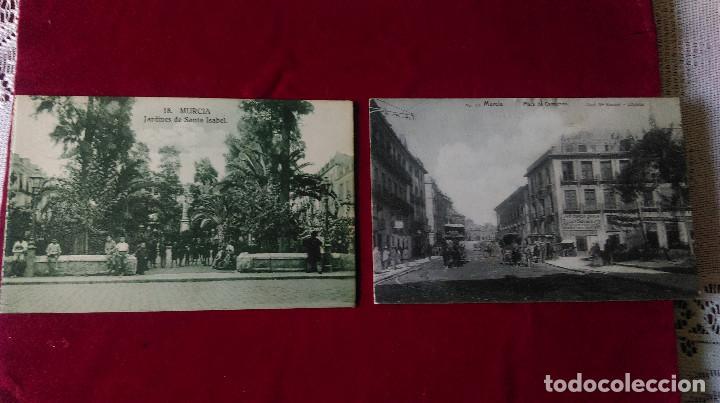 Postales: W.- 32.- LOTE DE - 7 - POSTALES DE -- MURCIA -- DIFERENTES LUGARES DE LA CIUDAD .- VER FOTOS - Foto 4 - 194673965