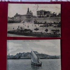 Postales: W.- 34.- LOTE DE -- 3 -- POSTALES DE --CARTAGENA -- VARIOS LUGARES DE LA POBLACION , VER FOTOS . Lote 194674622