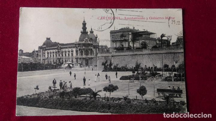 Postales: W.- 34.- LOTE DE -- 3 -- POSTALES DE --CARTAGENA -- VARIOS LUGARES DE LA POBLACION , VER FOTOS - Foto 2 - 194674622