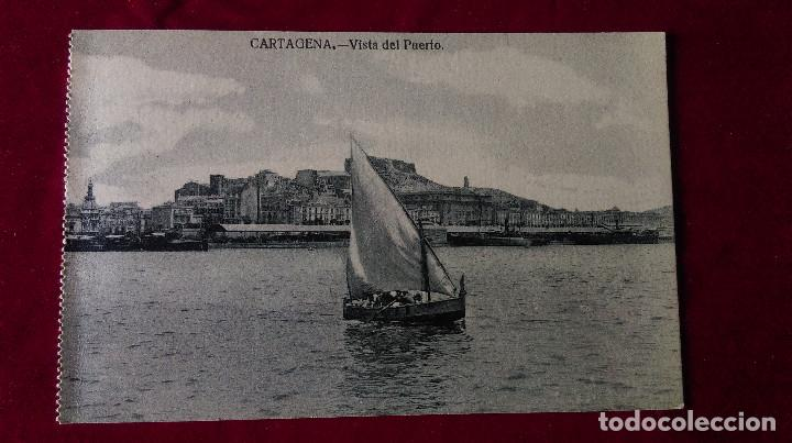 Postales: W.- 34.- LOTE DE -- 3 -- POSTALES DE --CARTAGENA -- VARIOS LUGARES DE LA POBLACION , VER FOTOS - Foto 3 - 194674622