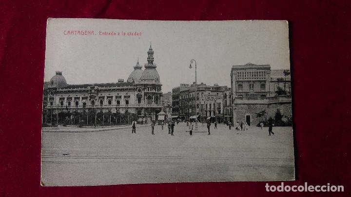 Postales: W.- 34.- LOTE DE -- 3 -- POSTALES DE --CARTAGENA -- VARIOS LUGARES DE LA POBLACION , VER FOTOS - Foto 4 - 194674622