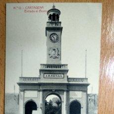 Postales: CARTAGENA (MURCIA). ENTRADA AL ARSENAL. THOMAS Nº12.. Lote 194676427
