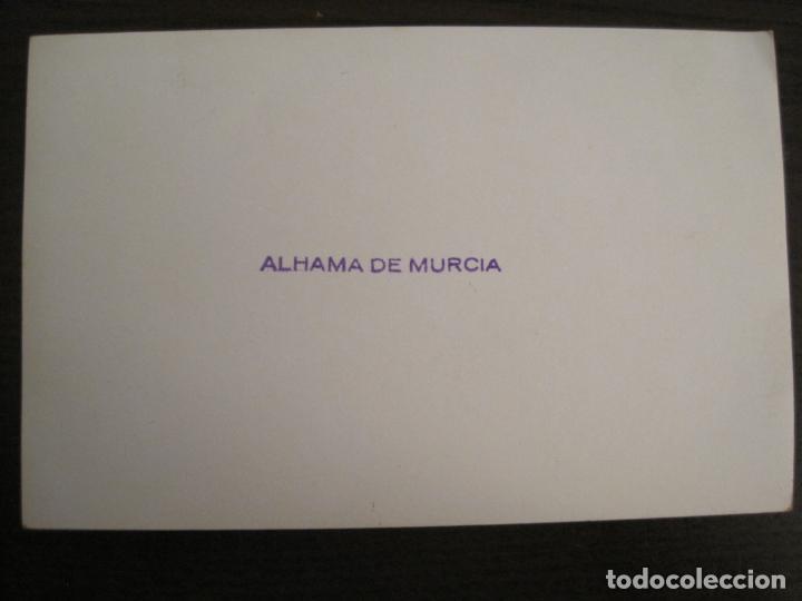 Postales: ALHAMA DE MURCIA-MERCERIA-PERFUMERIA-TABACOS...-FOTOGRAFIA ANTIGUA-TAMAÑO POSTAL-VER FOTOS-(68.055) - Foto 3 - 195127425