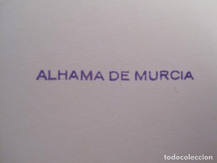 Postales: ALHAMA DE MURCIA-MERCERIA-PERFUMERIA-TABACOS...-FOTOGRAFIA ANTIGUA-TAMAÑO POSTAL-VER FOTOS-(68.055) - Foto 4 - 195127425