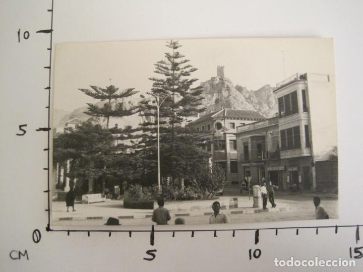 Postales: ALHAMA DE MURCIA-MERCERIA-PERFUMERIA-TABACOS...-FOTOGRAFIA ANTIGUA-TAMAÑO POSTAL-VER FOTOS-(68.055) - Foto 5 - 195127425