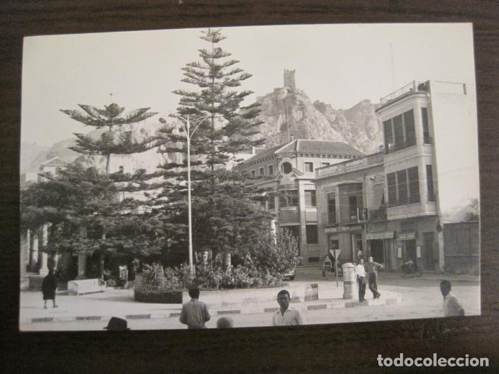 ALHAMA DE MURCIA-MERCERIA-PERFUMERIA-TABACOS...-FOTOGRAFIA ANTIGUA-TAMAÑO POSTAL-VER FOTOS-(68.055) (Postales - España - Murcia Antigua (hasta 1.939))