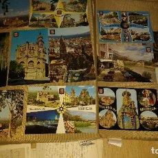 Postales: 10 POSTALES MURCIA,CEHEGIN,PUERTO LUMBRERAS (VER DESCRIPCION) AÑOS 60/70. Lote 195129357