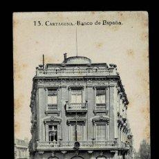 Postales: C16-12-10 CARTAGENA POSTAL Nº 13 BANCO DE ESPAÑA EDICIONES MELERO ESCRITA Y NO CIRCULADA.. Lote 195171852