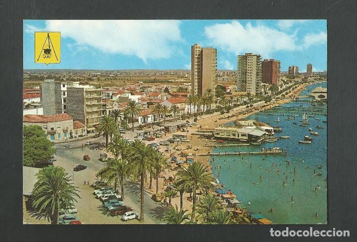 POSTAL CIRCULADA - SANTIAGO DE LA RIBERA 38 - MURCIA - EDITA MAR MENOR (Postales - España - Murcia Moderna (desde 1.940))