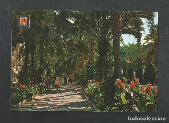 POSTAL CIRCULADA - ALICANTE 10 - EXPLANADA DE ESPAÑA - EDITA ESCUDO DE ORO (Postales - España - Murcia Moderna (desde 1.940))
