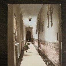 Postales: BALNEARIO DE ARCHENA-HOTEL TERMAS-PASILLO-POSTAL ANTIGUA-(68.115). Lote 195223446