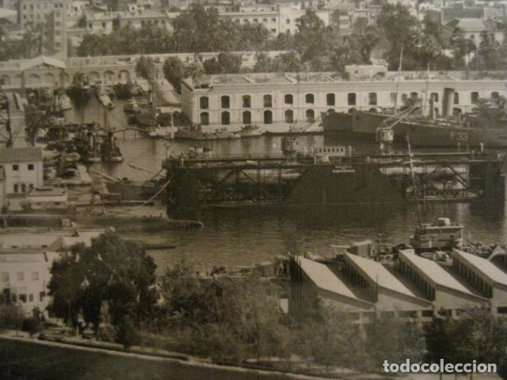 Postales: CARTAGENA-BASE DE SUBMARINOS (ARSENAL MILITAR)-ED·ARRIBAS-1009-POSTAL ANTIGUA-(68.157) - Foto 2 - 195306776
