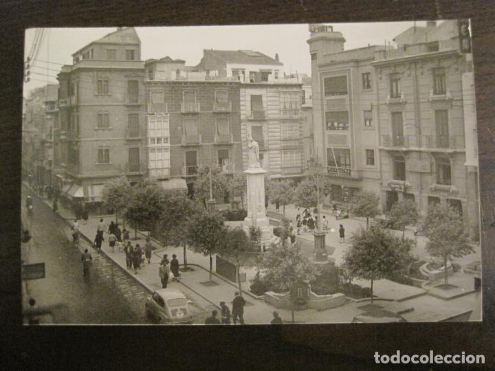 CARTAGENA-PLAZA DE RISUEÑO Y MONUMENTO A LA INMACULADA-ED·ARRIBAS-1038-POSTAL ANTIGUA-(68.159) (Postales - España - Murcia Antigua (hasta 1.939))