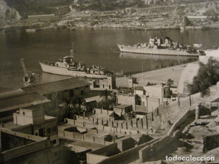 Postales: CARTAGENA-VISTA PARCIAL DEL PUERTO-ED·ARRIBAS-1017-POSTAL ANTIGUA-(68.160) - Foto 2 - 195307271