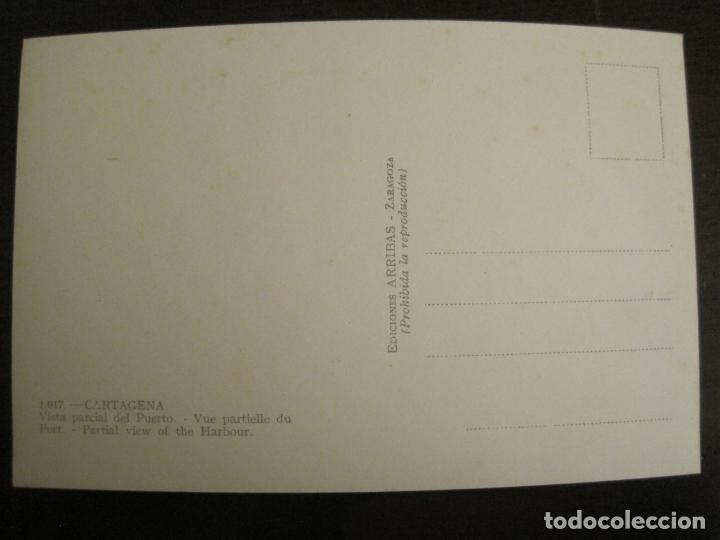 Postales: CARTAGENA-VISTA PARCIAL DEL PUERTO-ED·ARRIBAS-1017-POSTAL ANTIGUA-(68.160) - Foto 3 - 195307271